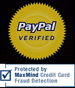 paypal verified & maxmind protection